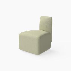 Caterpillar, 30˚ Seat with inside backrest | Modulare Sitzelemente | Derlot Editions