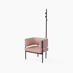 Crescent, Armchair with coat stand | Armchairs | Derlot