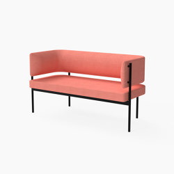 Crescent, Two seater sofa | Bancos | Derlot Editions