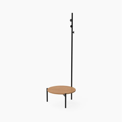 Crescent, Coffee table with coat stand | Coffee tables | Derlot