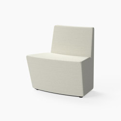 Guell, 30˚ Curved seat | Modular seating elements | Derlot