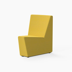 Guell, 30˚ Curved lounger seat | Modulare Sitzelemente | Derlot Editions