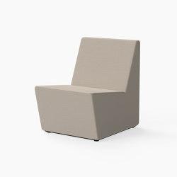 Guell, Lounger seat | Modular seating elements | Derlot