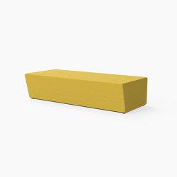 Guell, Lounger bench | Benches | Derlot