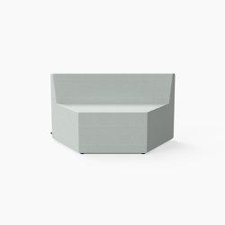 Prisma, Seat C | Modular seating elements | Derlot