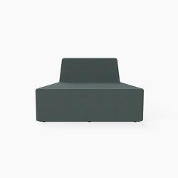 Prisma, Seat D | Modular seating elements | Derlot