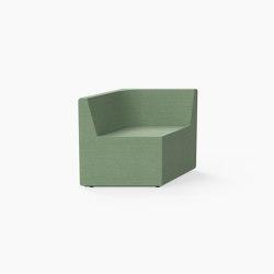 Prisma, Seat E | Modular seating elements | Derlot