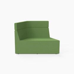 Prisma, Mid-back Seat A | Modular seating elements | Derlot