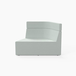 Prisma, Mid-back Seat B | Modular seating elements | Derlot