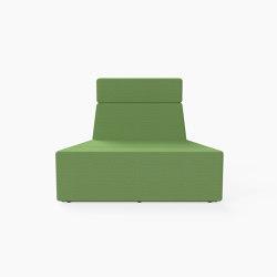 Prisma, Mid-back Seat D | Modular seating elements | Derlot