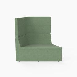 Prisma, High-back Seat A | Modular seating elements | Derlot