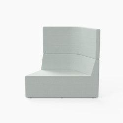 Prisma, High-back Seat B | Modular seating elements | Derlot