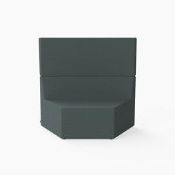 Prisma, High-back Seat C | Modular seating elements | Derlot