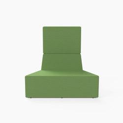 Prisma, High-back Seat D | Modular seating elements | Derlot