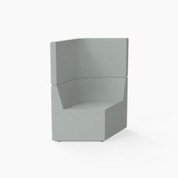 Prisma, High-back Seat E | Modular seating elements | Derlot
