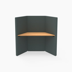 Prisma, Workstation | Cocoon furniture | Derlot Editions