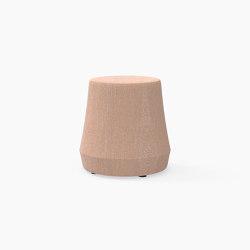 Stump, Upholstered Stool | Taburetes | Derlot Editions