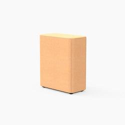 Tetromino, Backrest A   Modulare Sitzelemente   Derlot