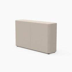 Tetromino, Backrest C   Modulare Sitzelemente   Derlot