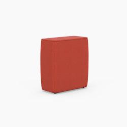 Tetromino Soft, Backrest A | Modular seating elements | Derlot Editions