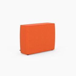 Tetromino Soft, Backrest B   Modulare Sitzelemente   Derlot