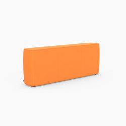 Tetromino Soft, Backrest D   Modulare Sitzelemente   Derlot