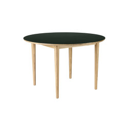 Bjørk | C62 Dining Table by Unit10 | Tavoli pranzo | FDB Møbler