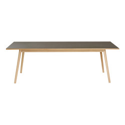 C35C Dining Table by Poul M. Volther | Dining tables | FDB Møbler