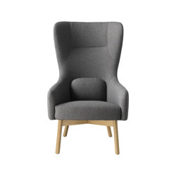 Gesja | L35 Lounge Chair by Foersom & Hjort-Lorenzen | Armchairs | FDB Møbler