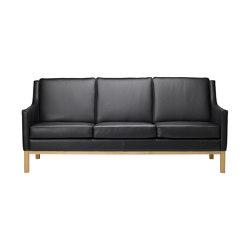 L601-3 Sofa by Erik Wørts | Canapés | FDB Møbler