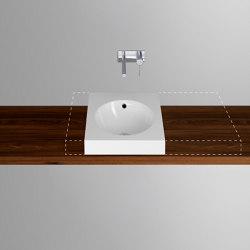 ORBIS VARIO counter top washbasin   Wash basins   Schmidlin