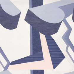 Blast - 02 blue | Drapery fabrics | nya nordiska