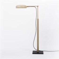 schliephacke Edition beige / black | Lampade piantana | Mawa Design