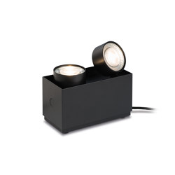 wittenberg 4.0 wi4-bod-2e-hb  »parkett« black | Lampade pavimento | Mawa Design