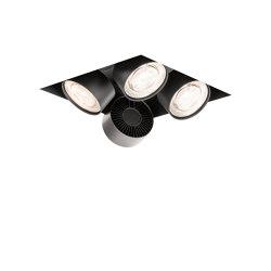 wittenberg 4.0 wi4-eb-4q-db black | Lampade soffitto incasso | Mawa Design