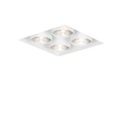 wittenberg 4.0 wi4-eb-4q-db white | Lampade soffitto incasso | Mawa Design
