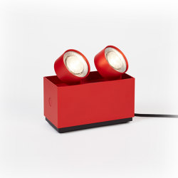 wittenberg 4.0 wi4-reg-2e-hb »parkett« red | Floor lights | Mawa Design