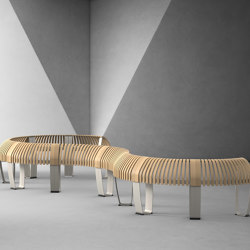 Nova C Perch | Lean stools | Green Furniture Concept
