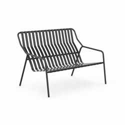 Strap 2 seater lounge | Benches | Les Basic