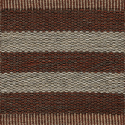 Narrow Stripe Icon | Red Clay 753 | Rugs | Kasthall