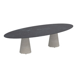 Conix oval table   Dining tables   Royal Botania