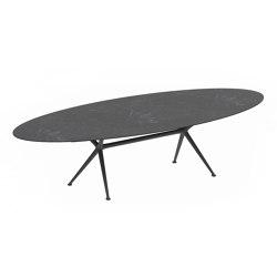 Exes oval table | Tables de repas | Royal Botania