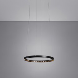 CIRCLE 30 Black | Suspended lights | Le deun