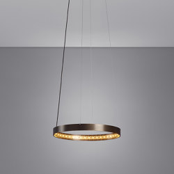 CIRCLE 30 Bronze | Suspended lights | Le deun