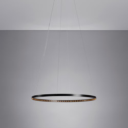 CIRCLE 60 Black | Suspended lights | Le deun