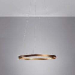 CIRCLE 60 Bronze | Lampade sospensione | Le deun