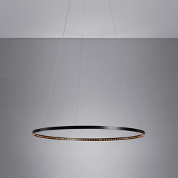 CIRCLE 80 Black | Suspended lights | Le deun