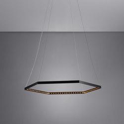 HEXA 1 Black | Lampade sospensione | Le deun