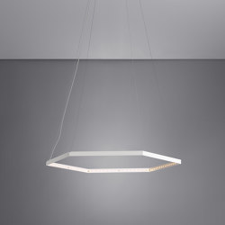HEXA 1 White   Suspended lights   Le deun