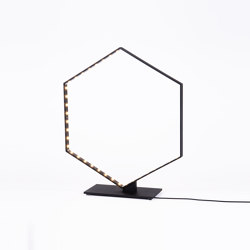 HEXA TABLE Black | Table lights | Le deun